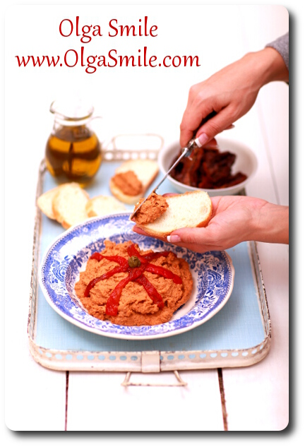 Pasta z ciecierzycy z pomidorami