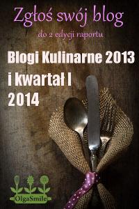 Raport Blogi Kulinarne 2013