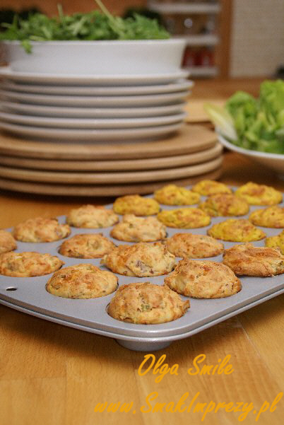 Muffiny serowe