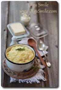 Tłuczone ziemniaki domowe puree ziemniaczane