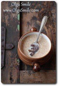 Zupa makowa z zacierkami