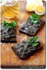 Pasta z czarnej fasoli