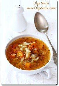 Zupa jarzynowa z koperkiem