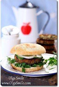 Veggie burger burgery wegetariańskie