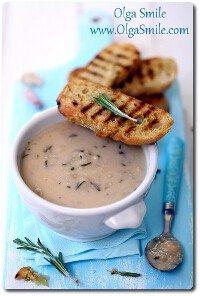 Zupa fasolowa z rozmarynem