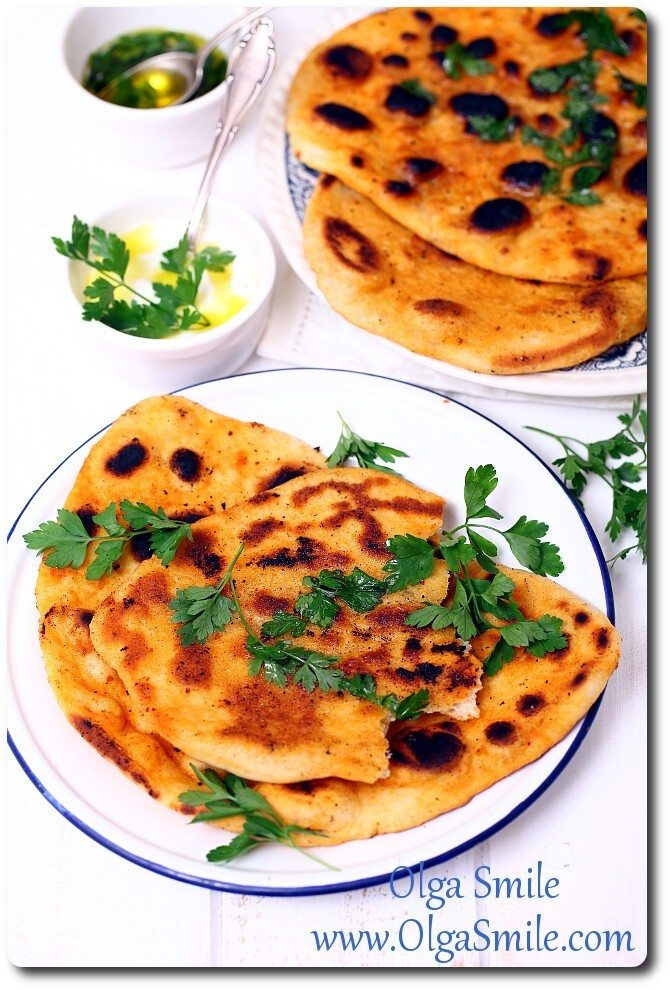 Naan chleb