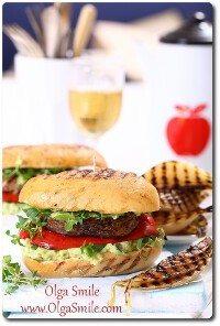 Veggie burger Olgi Smile