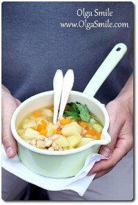 Zupa z fasolą Olgi Smile