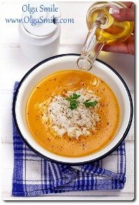 Zupa dyniowa z ryżem Olgi Smile