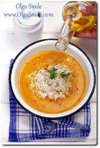 Zupa dyniowa z ryżem