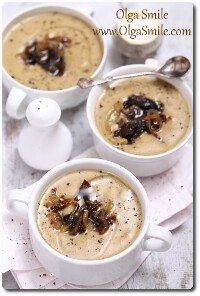 Zupa pieczarkowa krem