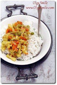 Warzywa curry Olgi Smile