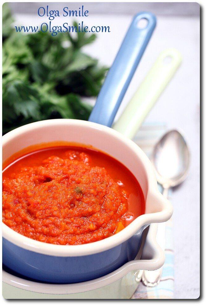 Sos pomidorowy verdure