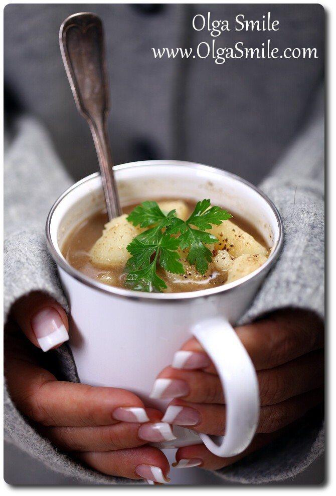 Zupa grzybowa z ziemniakami