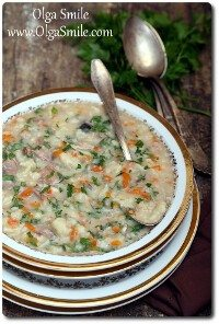 Zupa z karpia Olgi Smile