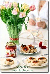 Tartaletki z pomidorami lekko podsmażonymi Pudliszki Olgi Smile
