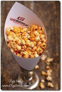 Pikantny popcorn Olgi Smile