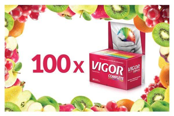 Nagrody dodatkowe zestawy witamin Vigor