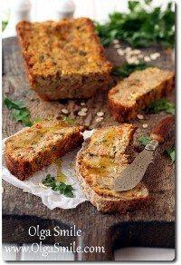 Pasztet wegetariański z fasoli i warzyw korzeniowych