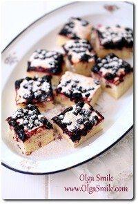 Ciasto z jagodami Olgi Smile