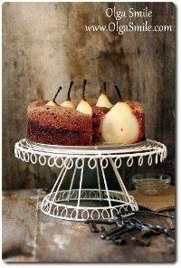 Ciasto z gruszkami Olgi Smile