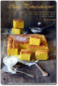 Ciasto pomarańczowe Olgi Smile