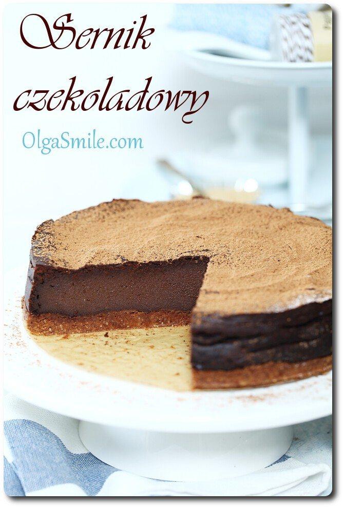 Sernik czekoladowy Olgi Smile