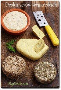 Deska serów wegańskich