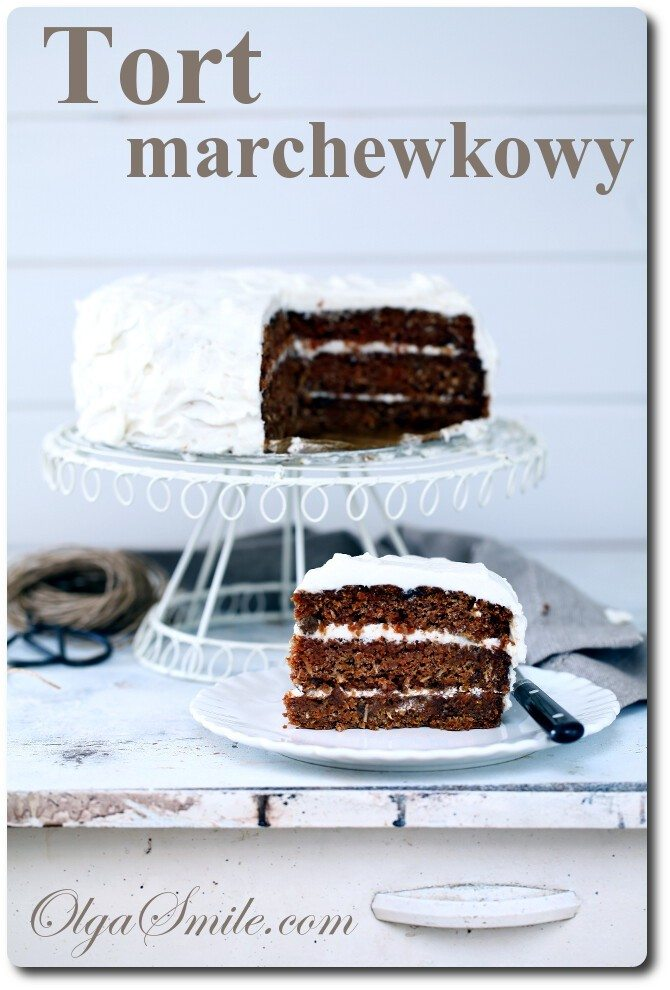 Tort marchewkowy Olgi Smile
