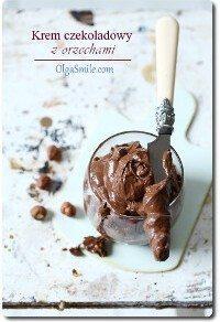 Krem czekoladowy z orzechami