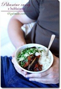Pikantne curry z bakłażana