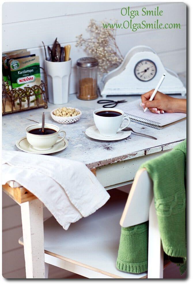 Kawa gotowana z kardamonem