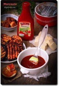 Marynata z ketchupem Pudliszki