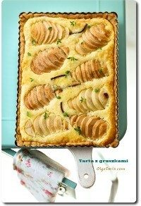 Tarta z gruszkami