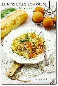 Jak zrobić przepis jajecznica z łososiem