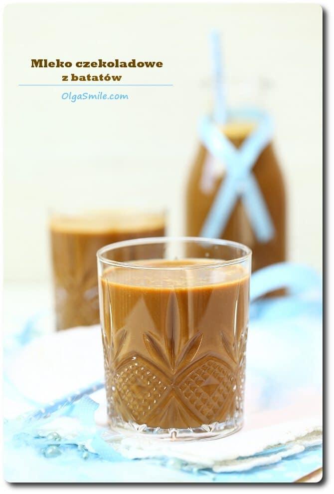 Mleko czekoladowe z batatów