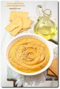 Hummus z fasoli i batatów