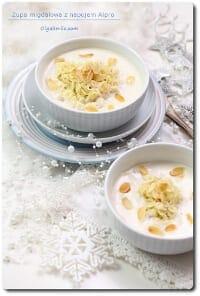 Zupa migdałowa