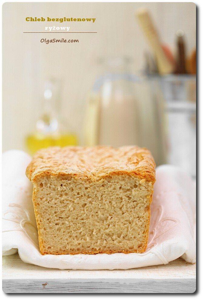 Chleb bezglutenowy ryżowy
