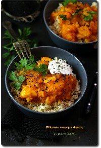 Pikantne curry z dynią