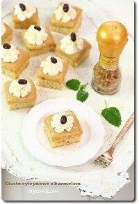 Ciasto cytrynowe z przyprawą Kotanyi Karmel i Wanilia