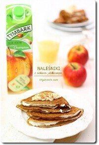 Naleśniki z sokiem jabłkowym TYMBARK