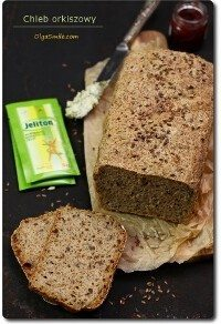 Chleb orkiszowy z błonnikiem Jeliton