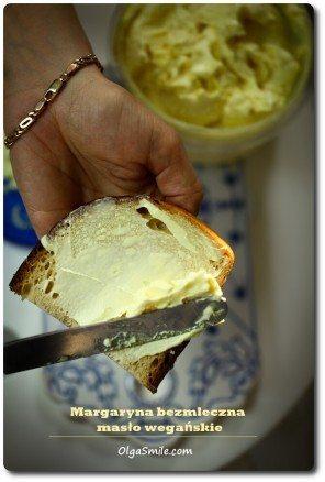 Masło wegańskie, margaryna bezmleczna Olgi Smile