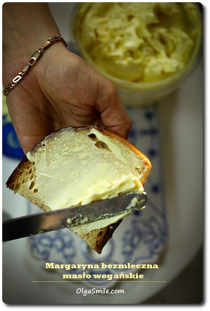 Masło wegańskie margaryna bezmleczna