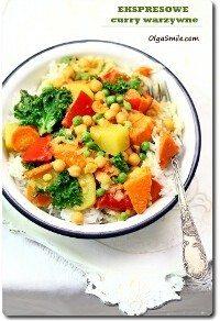 Ekspresowe curry warzywne