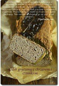 Chleb gryczany z chrzanem