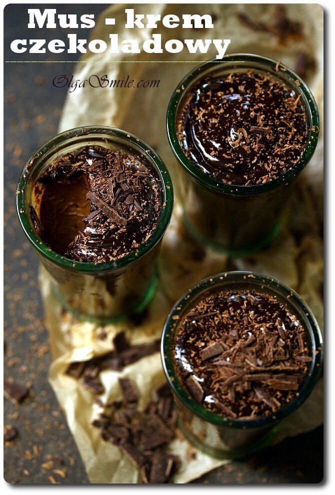 Mus czekoladowy z kaszy jaglanej