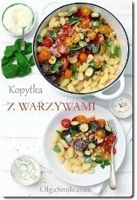 Kopytka z warzywami