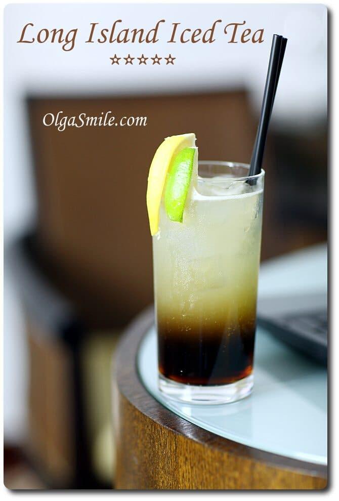 Long Island Iced Tea drink